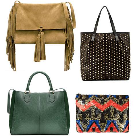 Bolsos de Zara otoño invierno 2011 2012