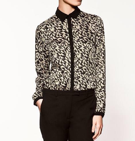 Camisas de Zara