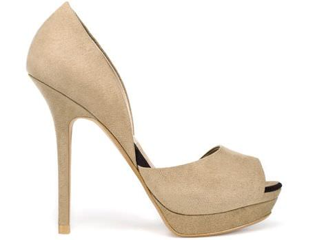 los nuevos zapatos de zara