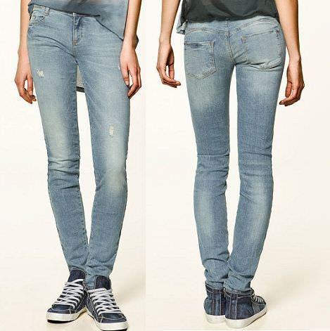 los jeans efecto push up de zara