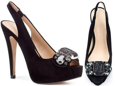 Sandalias y zapatos de fiesta de Zara