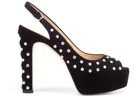 Sandalias de fiesta de Zara
