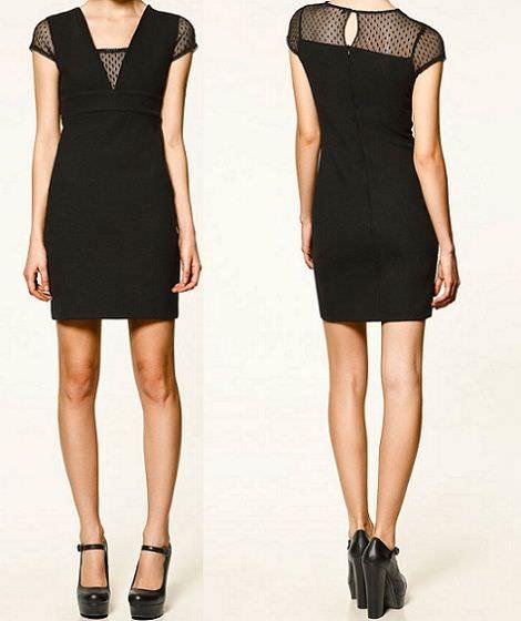 nuevo vestido de Zara Trafaluc para nochevieja