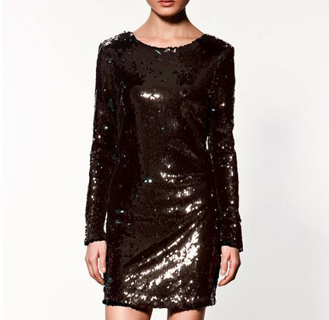 Nuevo vestido de lentejuelas de Zara