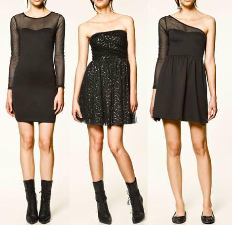 Nuevos vestidos de fin de año 2012 de Zara