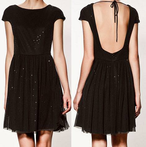 Vestido de Nochevieja de Zara