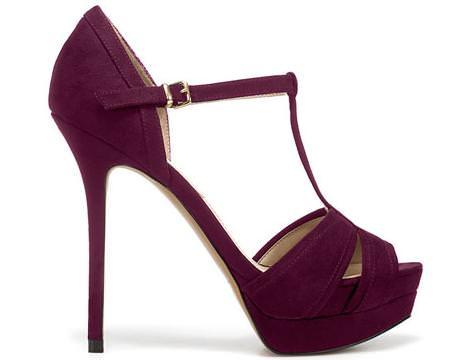 Zapatos de fiesta de Zara otoño 2011