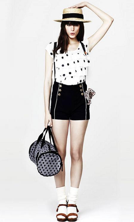 Shorts de Zara, verano 2010