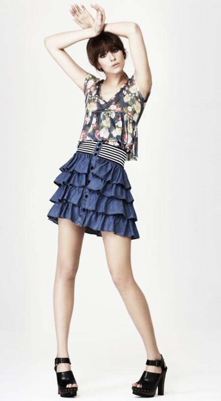vestidos primavera verano 2012 para gorditas xl moda vestidos de ...