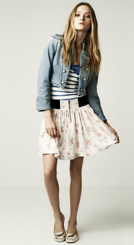 Faldas de Zara primavera 2010