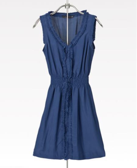 Zara primavera 2010: Vestido navy