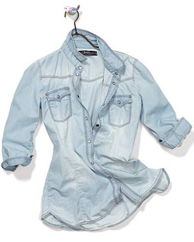 Tendencias primavera 2010: Denim shirt