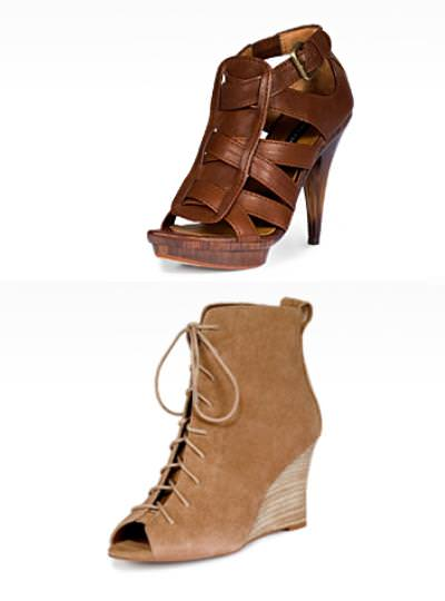 Zara primavera 2010, zapatos