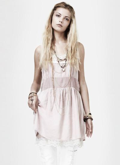 Zara primavera 2010, vestido de croché