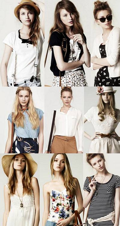 Zara moda verano 2010