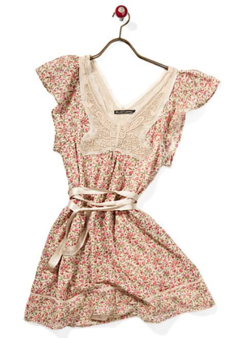 Vestidos de moda casual, verano 2010