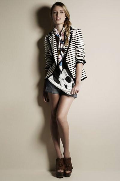 Lookbook de Zara, primavera 2010: primer look