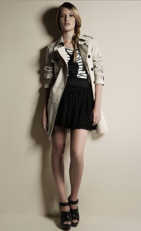 Lookbook primavera 2010 de Zara, de febrero