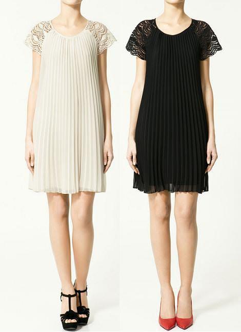 Zara vestidos primavera 2011
