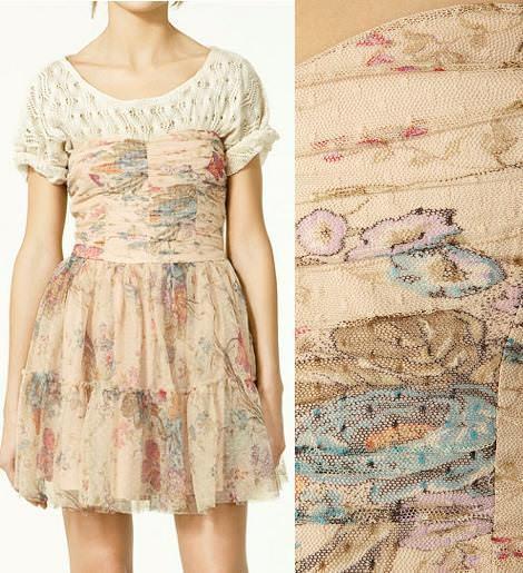 Vestidos Zara primavera 2011