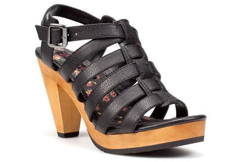 Sandalias Zara primavera 2011