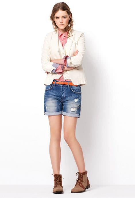 Zara TRF primavera 2011: lookbook marzo