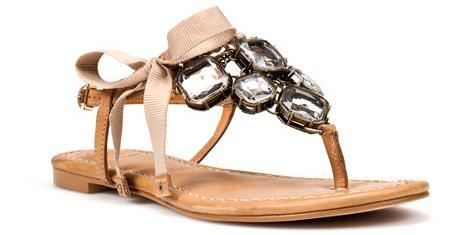 Sandalias joya de Zara