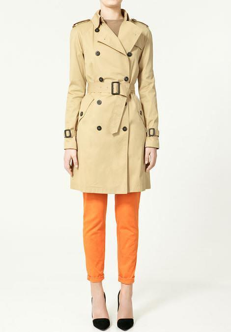 Zara primavera 2011: trenchs, parkas y abrigos