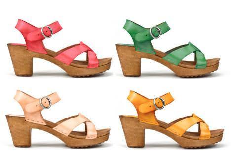 Zuecos de Zara TRF a todo color