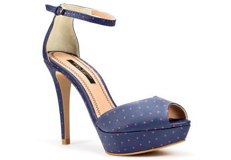 Sandalias plataforma de Zara