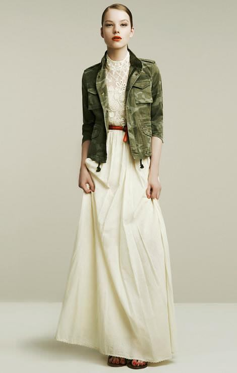 Zara ropa y looks primavera 2011