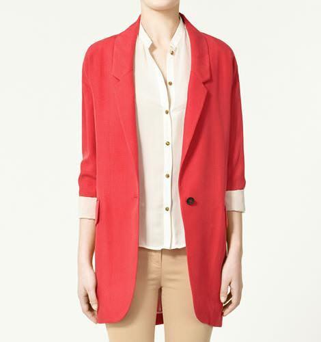 Blazers de Zara primavera 2011