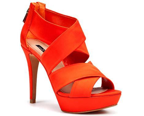 Sandalias de fiesta de Zara 2011
