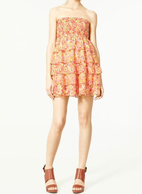 Vestidos de Zara TRF verano 2011