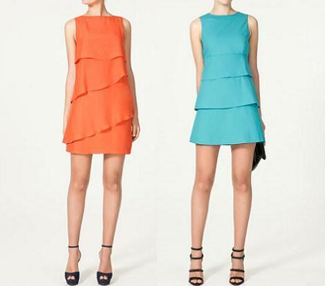 Vestidos de Zara verano 2011