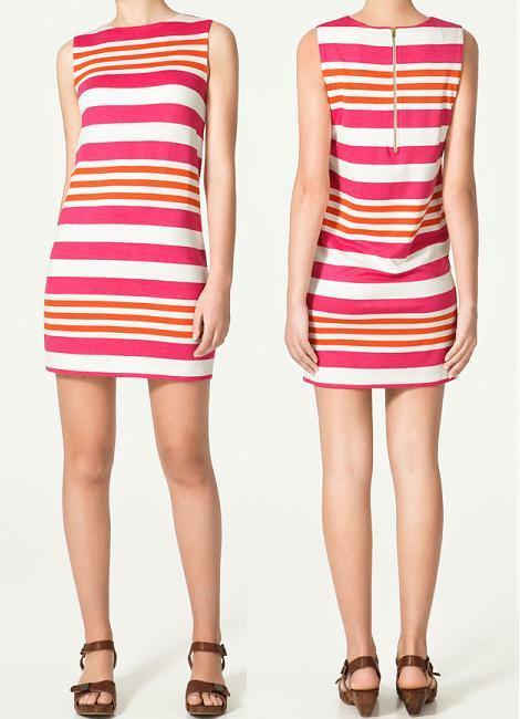 Vestidos de Zara primavera verano 2011