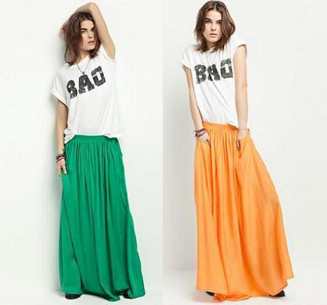 Faldas largas de Zara  45f0124508b