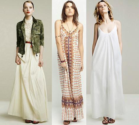 Vestidos largos de primavera