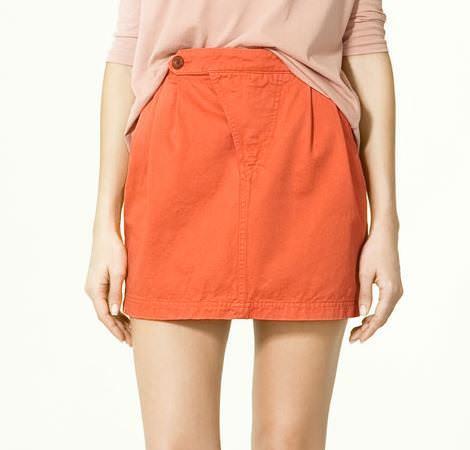 Faldas Zara primavera 2011
