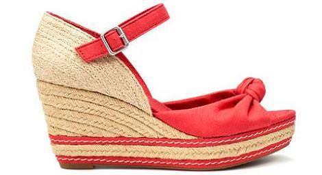 Zapatos de esparto