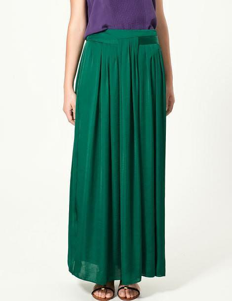 Nueva falda larga de Zara