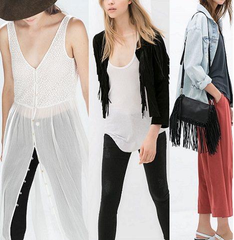 abrigos de Zara Woman otoño invierno 2014 2015