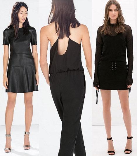 vestidos de Zara Woman otoño invierno 2014 2015