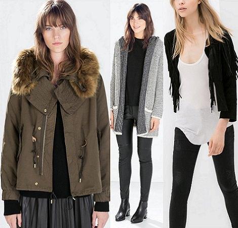 Tendencias de Zara Woman otoño invierno 2014 2015