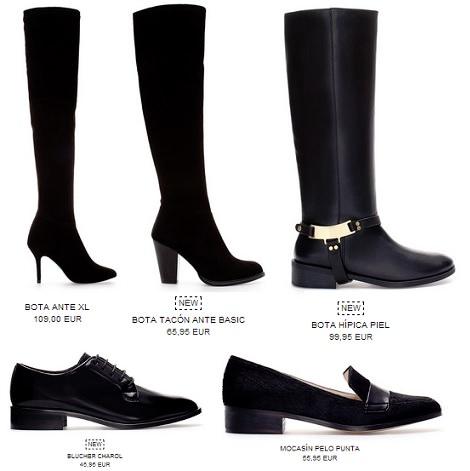 botas altas de zara otoño 2013