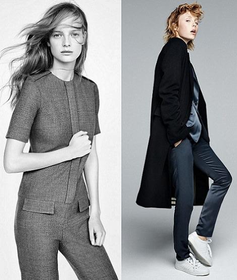 ropa de soprt de Zara otoño invierno 2014 2015