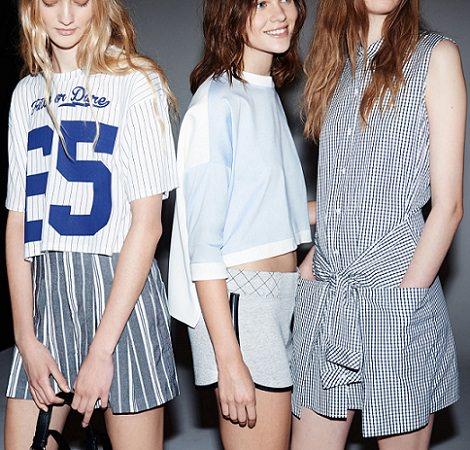 ropa de estilo deportivo de zara trafaluc primavera verano 2014