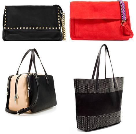 Zara bolsos otoño 2012