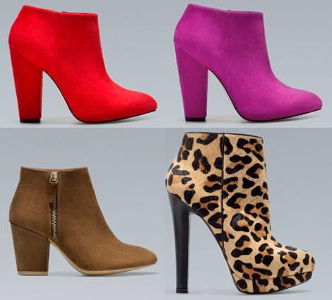 Botas y botines de Zara otoño 2012