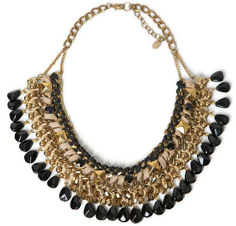 Collares de Zara de fiesta 2012 2013